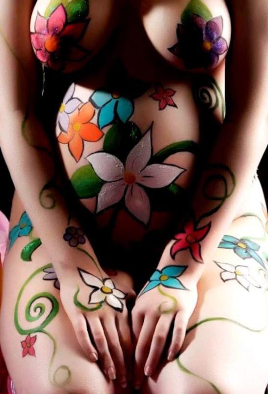 Emma Farrell   Body Painter Ireland  I Love Body Art