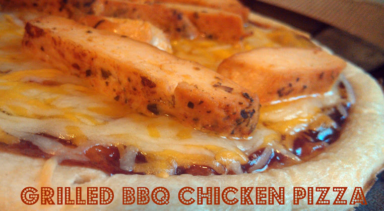 Healthy Chicken Recipes Using Tyson Grilled & Ready Chicken: BBQ Chicken Pizza