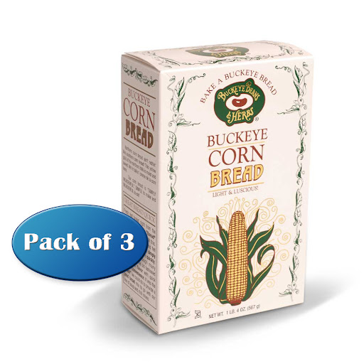Buckeye Beans & Herbs Sweet Cornbread Mix - Gourmet Bread Mix by Buckeye Beans & Herbs, 20 oz Box (Pack of 3) at Sears.com