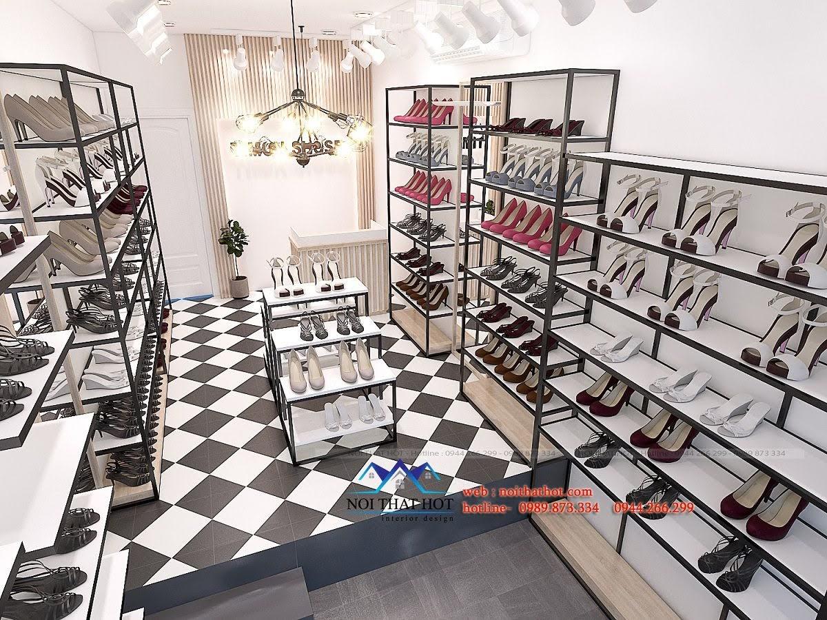 thiết kế shop giày dép timon 3