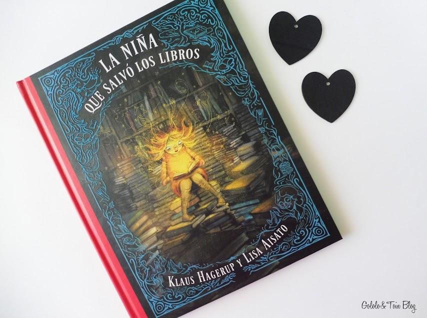 La niña que salvó los libros reseña