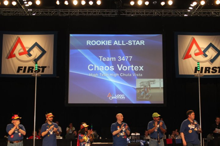 Chaos Vortex Experience at the FRC San Diego Regional Part 2