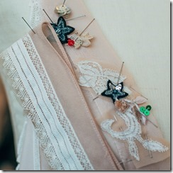 COACH Hand-sewn prairie floral embroidery
