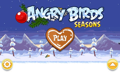 Angry Birds Seasons Wreck the Halls