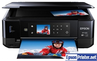 How to reset Epson XP-620 printer