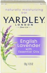 Yardley London Moisturizing Bar - English Lavender, 120g