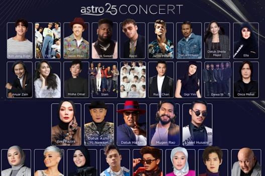 Link Live Streaming Concert Astro 25 ( September 2021)