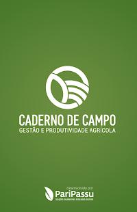 Caderno de Campo - náhled