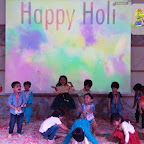 Holi Celebrated by Playgroup Afternoon Section at Witty World, Chikoowadi (2017-18)