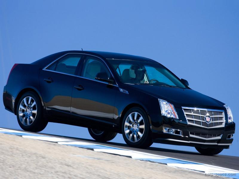 2009 cadillac cts sedan specifications pictures prices. Black Bedroom Furniture Sets. Home Design Ideas