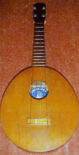 Walter Slackhoust Tutti the Clown Ukulele