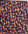 Diamonds by Audrey Woods, quilted in a pattern called Waterworld by Jodie Beamish
