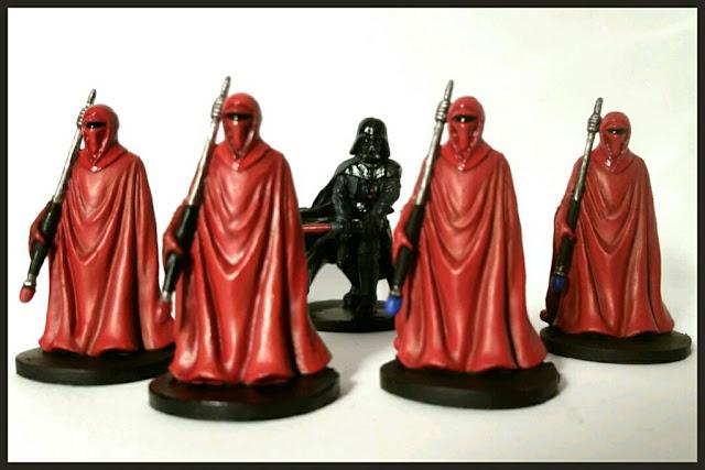 Imperial Royal Guard pintado por xela