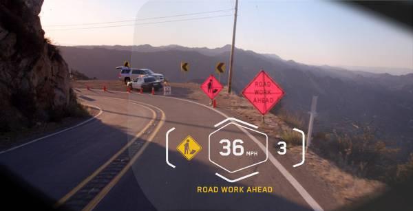 ★BMW ヘッドアップディスプレイ付きヘルメットを発表