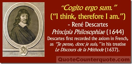 Rene Descartes cogito ergo sum quote 3a