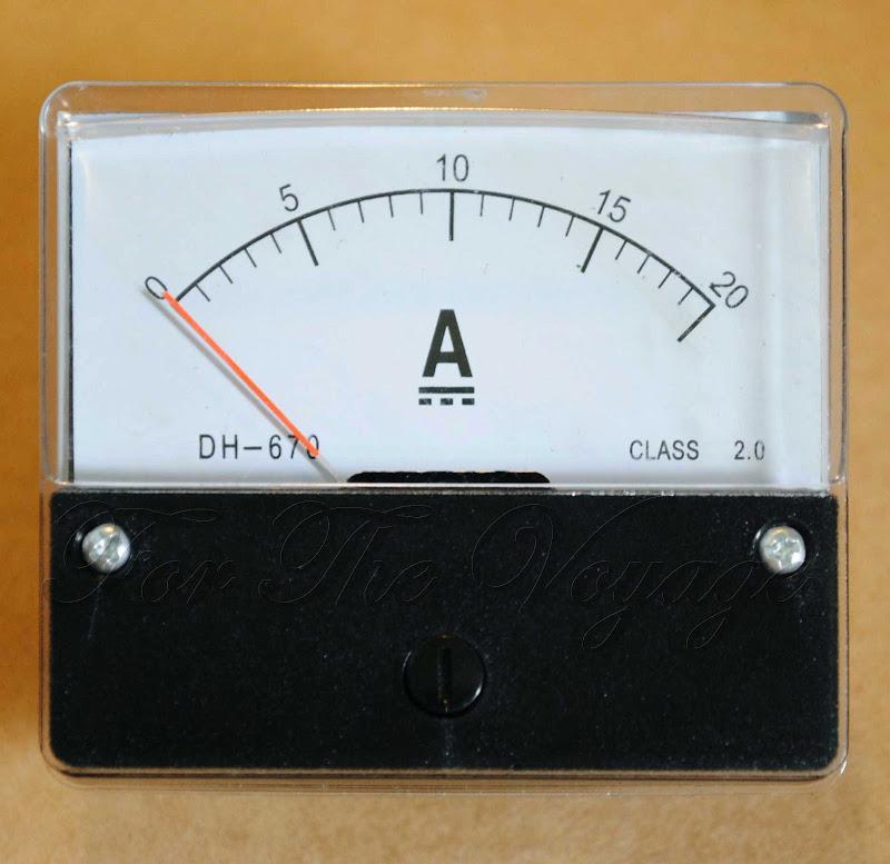 First Analog Meter : A dc ammeter analogue panel amp meter analog new ebay