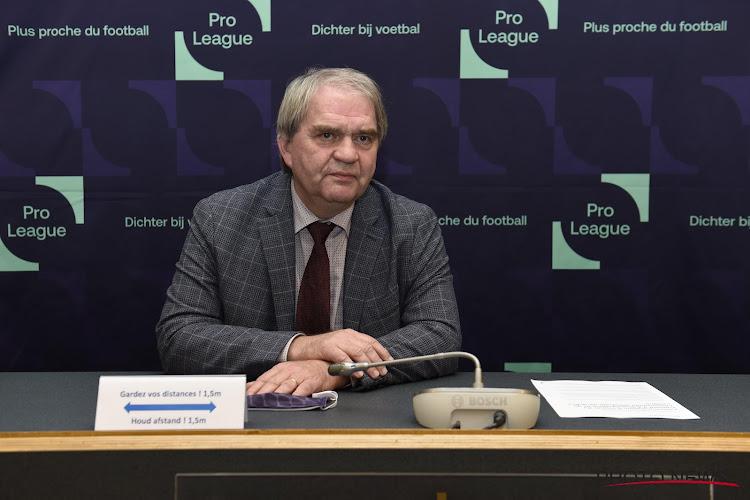 """""""Inacceptable"""": la Pro League réagit à son tour au projet de création d'une Super League"""