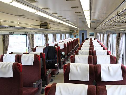 JR北海道 臨時特急「ヌプリ」 札幌行き 3号車 車内