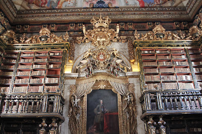 Biblioteca Joanina - Coimbra - Portugal