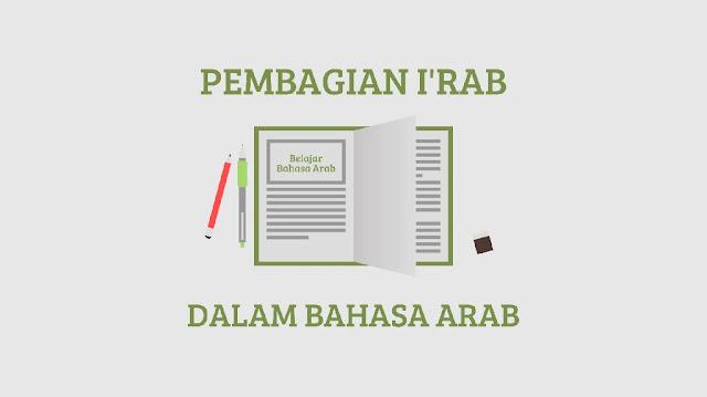 Mudah Paham.! Pembagian I'rab Dalam Belajar Bahasa Arab