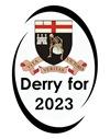 DerryFor2023 Logo