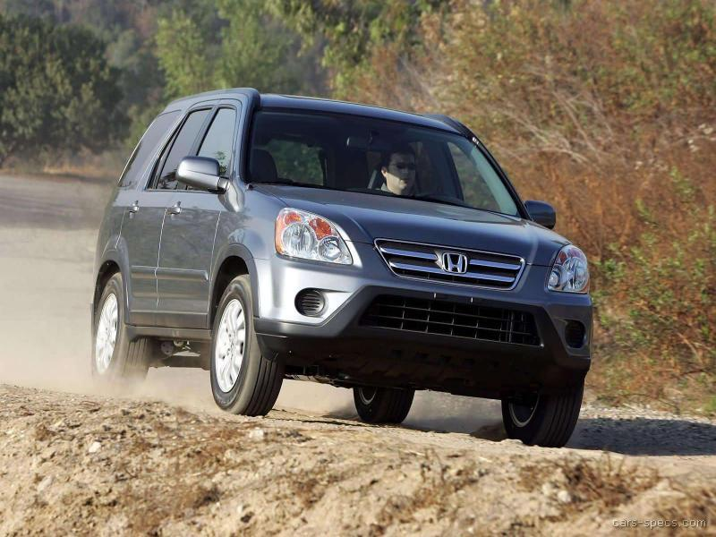 2005 Honda CR-V SUV Specifications, Pictures, Prices