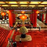 gorgeous lobby at the Grand Hotel in Taipei in Taipei, T'ai-pei county, Taiwan