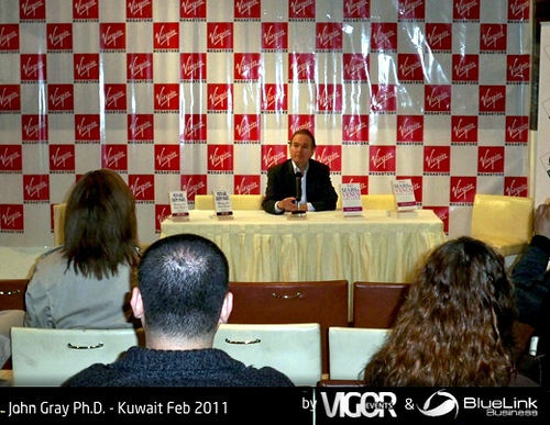 John Gray Phd Kuwait Feb 2011 02, Dr Gray