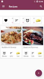 Food recipe app free cookbook recipes apps on google play screenshot image forumfinder Gallery