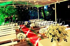 Fotos de decoração de casamento de Casamento Natália e Daniel no Iate Clube RJ Salão Marlin Azul da decoradora e cerimonialista de casamento Liliane Cariello que atua no Rio de Janeiro e Niterói, RJ.