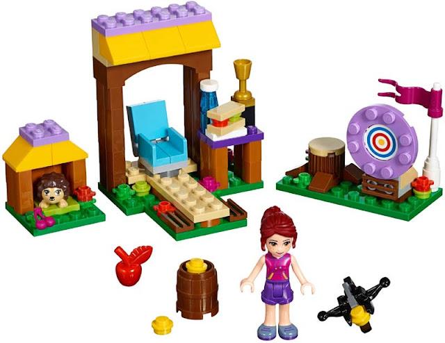 Contenido de Lego® 41120 Campamento de Aventura: Tiro con Arco