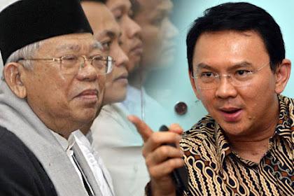 Kata Luhut: Ahok Sudah Terima KH. Ma'ruf Amin Dampingi Jokowi Meski Pernah Jadi Saksi Memberatkannya