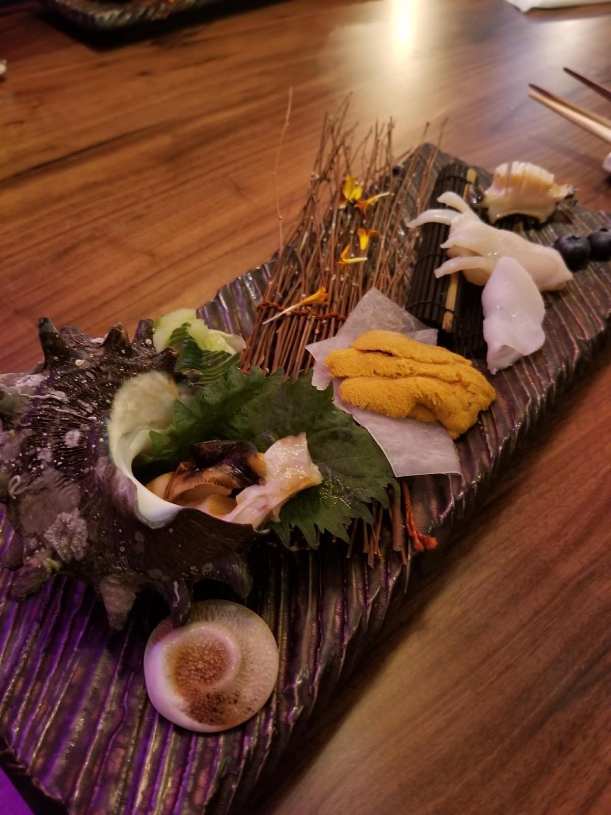 Koreatown sashimi los angeles foodie seattle blogger