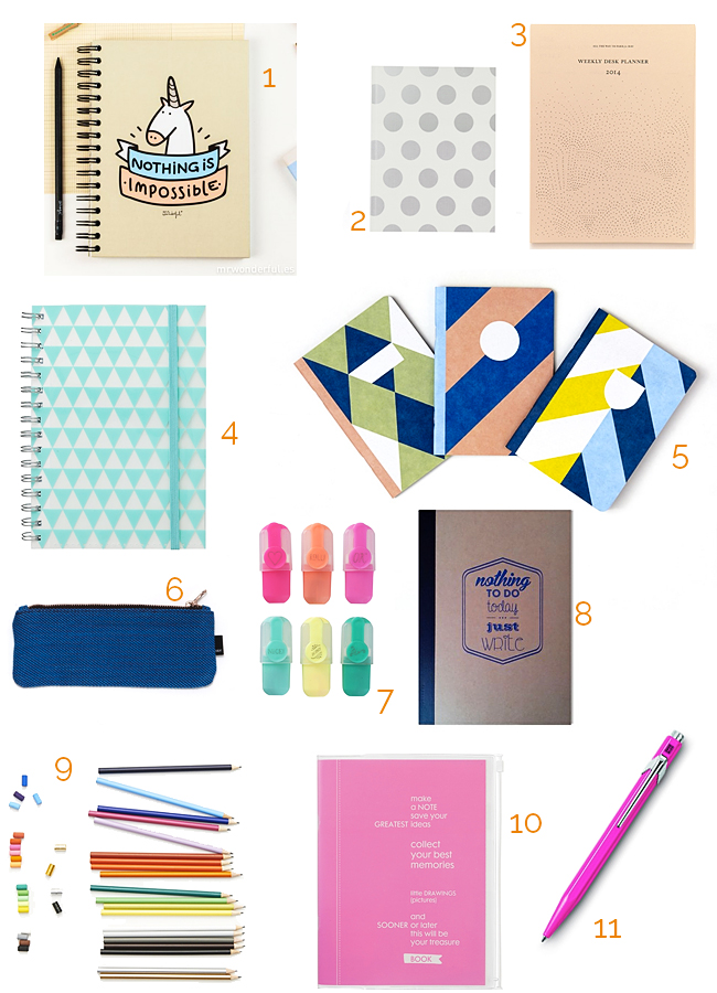 stationery items, office accessories, back to school, desk, cute