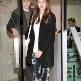 OIC - ENTSIMAGES.COM - Millie Brady  Attends  Hayden Kays: The Top Ten - private view British pop artist returns with his first solo exhibition of 2015, showcasing ten pieces from his celebrated typewriter series in London on the 2nd April 2015. Photo Mobis Photos/OIC 0203 174 1069