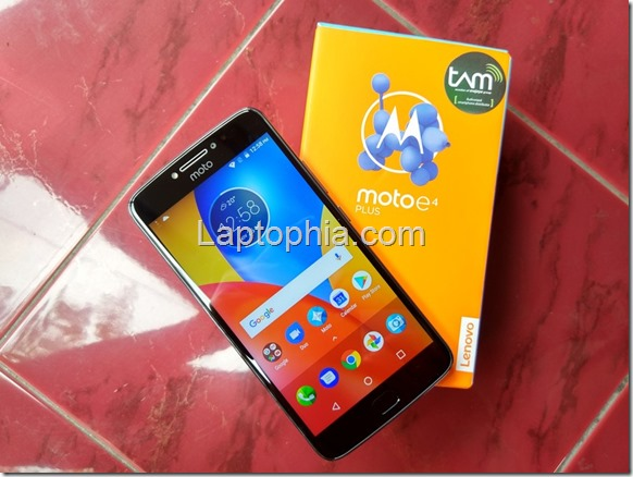 Hands On & Unboxing Motorola Moto E4 Plus