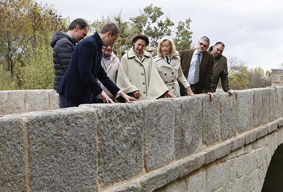 Finalizadas las obras de restauración del puente junto a Monesterio