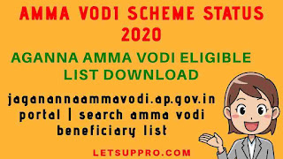 amma vodi scheme status