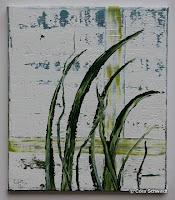 """Im Lot"", Öl auf Leinwand, 30x35, 2005, verkauft"