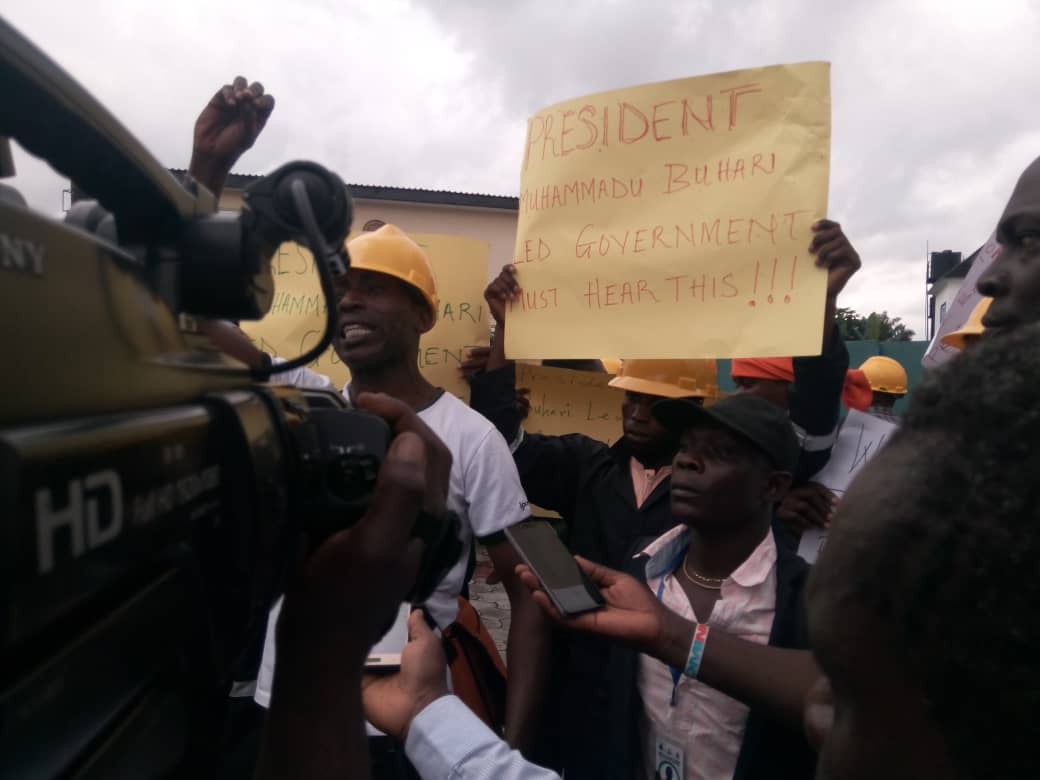 SCHOLARS OF ELECTRIC POWER TRANSFORMER REPAIR & MAINTENANCE EMBARK ON A PEACEFUL PROTEST GIVE 7 DAY ULTIMATUM THE PRESIDENTIAL AMNESTY PROGRAMME OVER UNPAID CONTRACTS