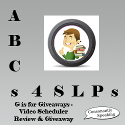 ABCs 4 SLPs Video Scheduler