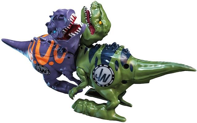 Bộ sưu tập gồm 8 khủng long chiến đấu Jurassic World Brawlasaurs