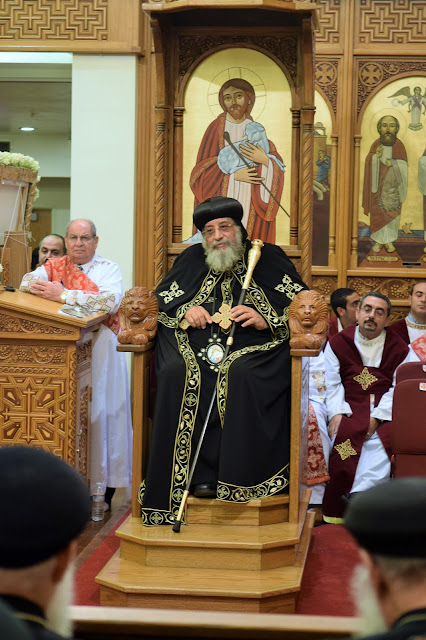 His Holiness Pope Tawadros II visit to St. Mark LA - DSC_0249.JPG