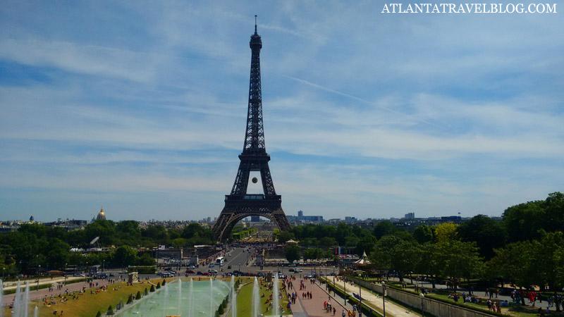 Путешествие в Париж из Атланты