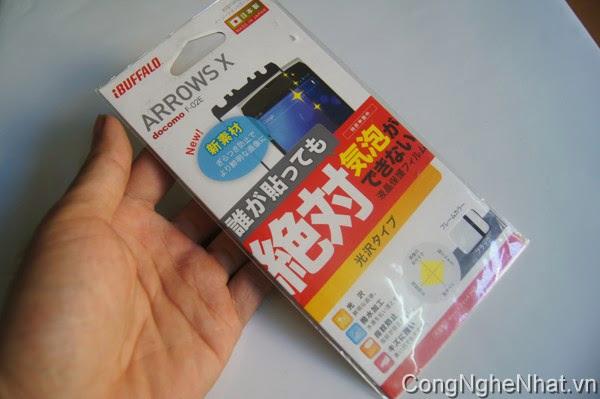 Dán màn hình Fujitsu F-02E siêu sáng