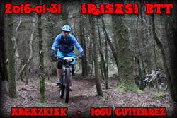 Irisasi BTT 2016-IOSU GUTIERREZ