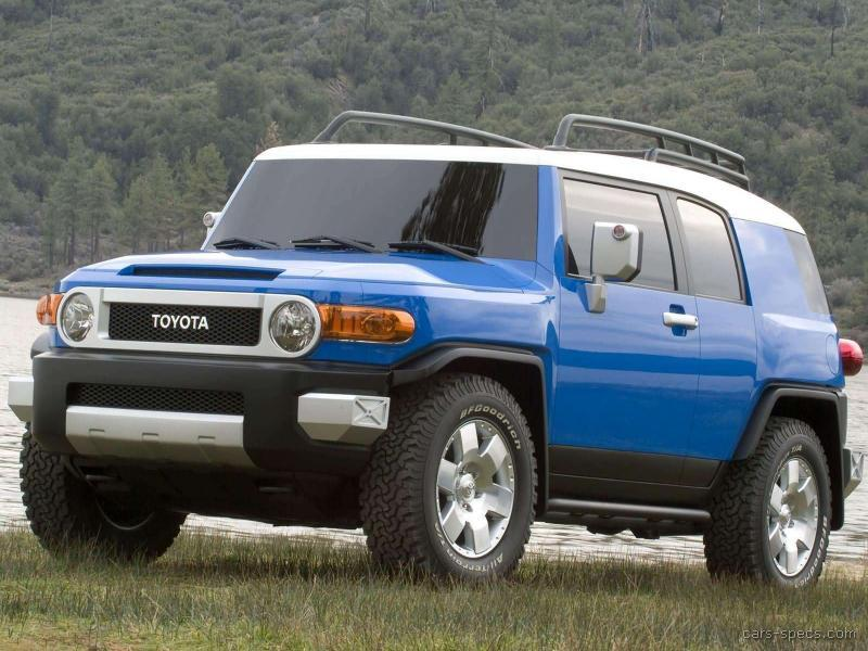 2007 toyota fj cruiser suv specifications pictures prices. Black Bedroom Furniture Sets. Home Design Ideas