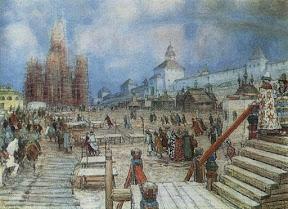 Москва при Иване Грозном. Красная площадь, 1902
