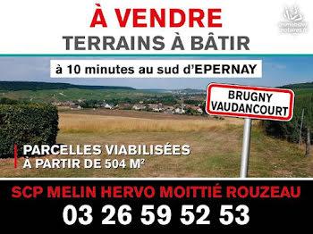 terrain à Brugny-Vaudancourt (51)