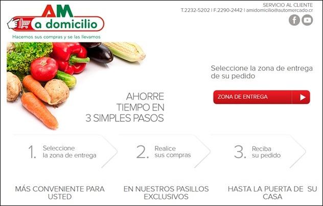 Abrir mi cuenta Auto Mercado - Costa Rica